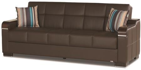 Uptown Sofabed Brown Pu