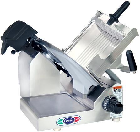 Globe N Series 3600N22050 Commercial Meat Slicer Stainless Steel, Manual Slicer