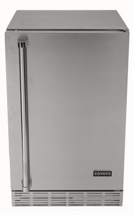 Coyote  CBIRR Compact Refrigerator Stainless Steel, Main View