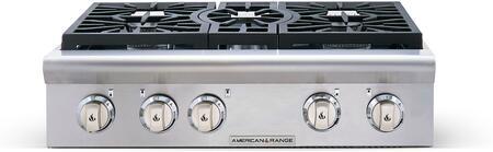 American Range Cuisine ARSCT305N Gas Cooktop Stainless Steel, 1