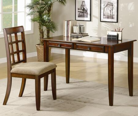 Coaster 800778 Office Desk Brown, 1