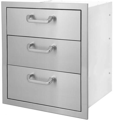 HTX-DRAWER-3DR 17″ x 24″ Triple Drawer in Stainless