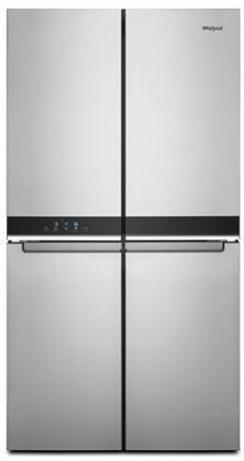 Whirlpool  WRQA59CNKZ French Door Refrigerator Stainless Steel, WRQA59CNKZ 4 Door Refrigerator