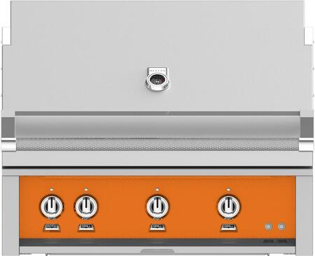 Hestan GSBR36LPOR Liquid Propane Grill Orange, Main Image