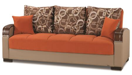 Casamode Mobimax MOBIMAXSOFABEDORANGE17341 Sofa Bed Orange, Main Image