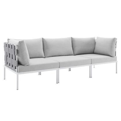 Modway Harmony EEI4968GRYGRY Outdoor Patio Sofa Gray, EEI 4968 GRY GRY 1