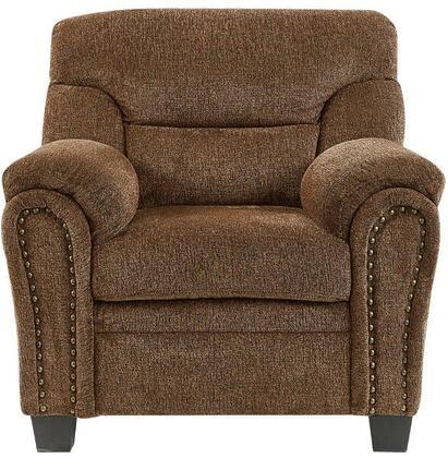 Global Furniture USA U1058 U1058KDCH Accent Chair Brown, Main Image