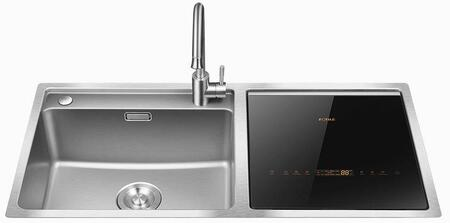 Fotile  SD2FP1X Built-In Dishwasher Stainless Steel, SD2F-P1X 3-N-1 Sink and Dishwasher
