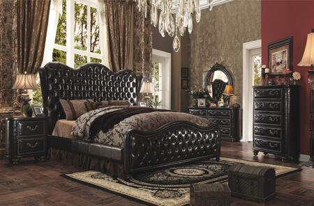 Acme Furniture Varada 21214CK5PC Bedroom Set Brown, 5 PC Set