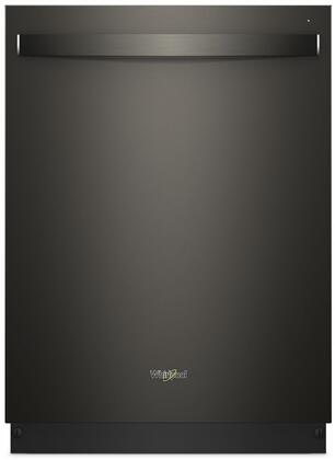 Whirlpool WDT975SAHV Built-In Dishwasher Black Stainless Steel, Main Image