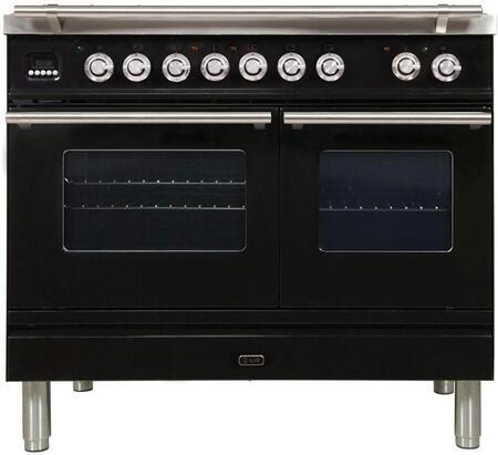 Ilve Professional Plus UPDW100FDMPN Freestanding Dual Fuel Range , UPDW100FDMPN Professional Plus Range