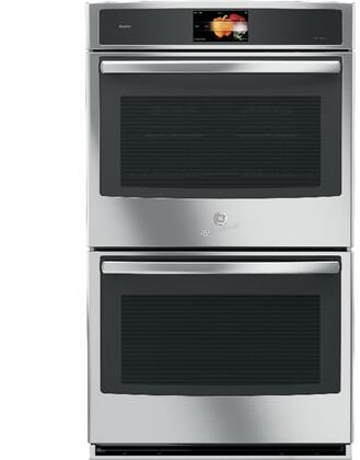 GE Profile PT9551SLSS Double Wall Oven Stainless Steel, PT9551SLSS  Main View
