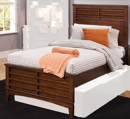 Liberty Furniture Chelsea Square 628YBRFPB Bed Brown, Main Image