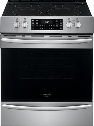 Frigidaire Gallery FGEH3047VF Slide-In Electric Range Stainless Steel, Main Image