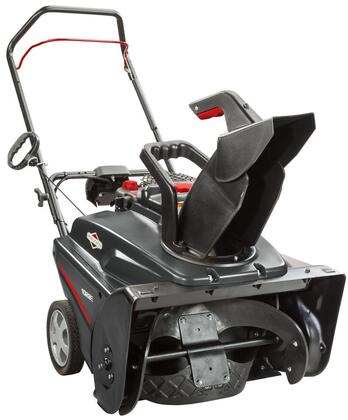1696727 22″ Single Stage Snowblower with Electric Start  5.5 TP  208 cc  Large Capacity Fuel Tank  8″ Wheels  12.5″ Intake Height  Remote Chute