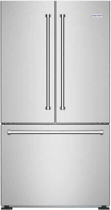 BlueStar  FBFD360 French Door Refrigerator Stainless Steel, Main Image