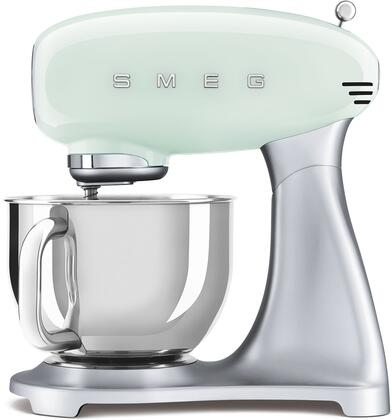 SMF02PGUS 16″ 50's Retro Style Aesthetic Stand Mixer with Stainless Steel Bowl  Lever Control and 600 Watts Motor in Pastel