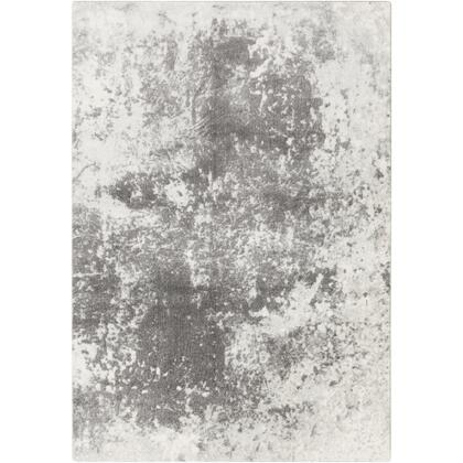 Aberdine ABE-8013 6'7″ x 9′ Rectangle Modern Rugs in Medium Gray  Charcoal