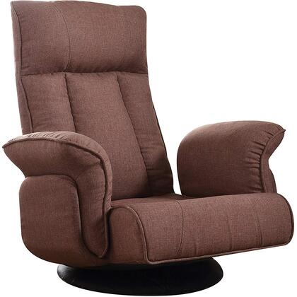 Acme Furniture Phemie 59805 Accent Chair Brown, Youth Game Chair