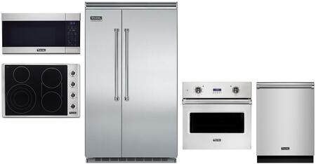 Viking 5 Series 1310860 Kitchen Appliance Package Stainless Steel, Main image