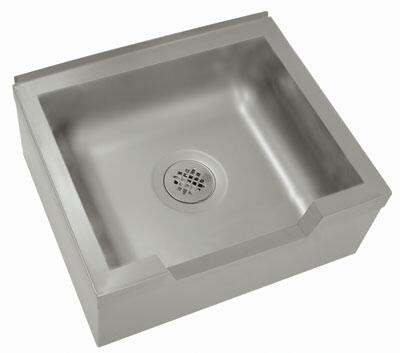 Advance Tabco  9OP40DFX Commercial Mop and Utility Sink Stainless Steel, Main Image