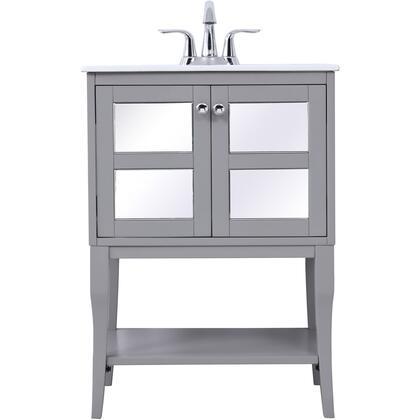 Elegant Decor Mason VF2101MR Sink Vanity Gray, VF2101MR