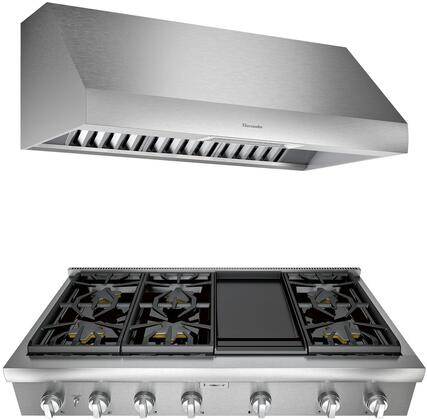 Thermador Professional 1071403 Kitchen Appliance Package Stainless Steel, main image