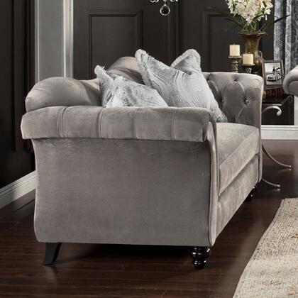 Furniture of America Antoinette SM2225LV Loveseat Gray, Main Image