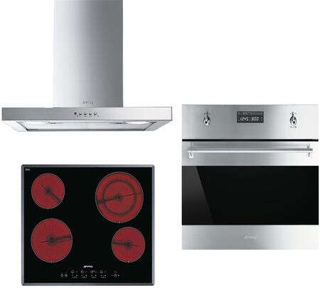 Smeg 890635 Kitchen Appliance Package & Bundle Stainless Steel, 1