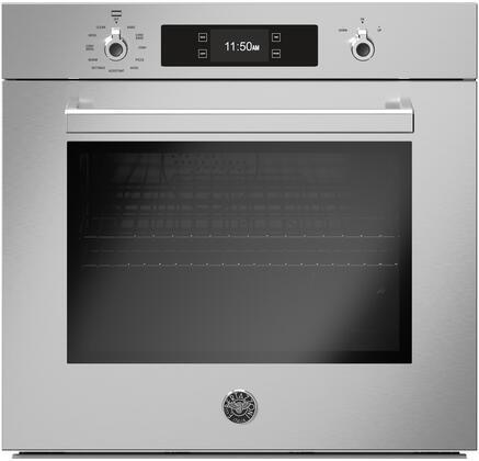 Bertazzoni Professional PROF30FSEXT Single Wall Oven Stainless Steel, PROF30FSEXT Single Wall Oven