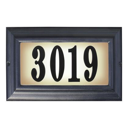 Qualarc Edgewood LTL1301BL Address Plaques, LTL 1301 BL
