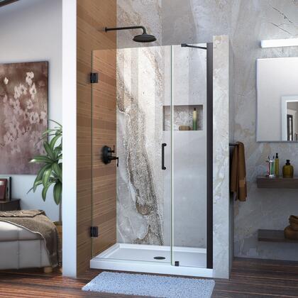 DreamLine  SHDR2039721009 Shower Door , Unidoor Shower Door with Base 12 28D 12P support arm 09 72 WM 11 16