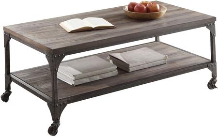 Acme Furniture Gorden 81445 Coffee and Cocktail Table Brown, Coffee Table