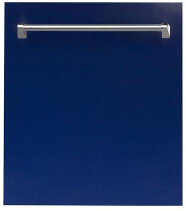 ZLINE  DWBG24 Built-In Dishwasher Blue, DWBG24 Top Control Dishwasher