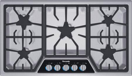 Thermador Masterpiece SGSX365FS Gas Cooktop Stainless Steel, SGSX365FS 36-Inch Gas Cooktop