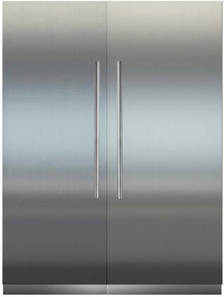 Liebherr Monolith 1103026 Column Refrigerator & Freezer Set Stainless Steel, main image