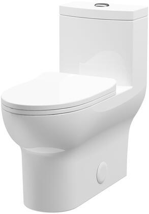 Toilet-76 Laura One Piece Ceramic Toilet  in