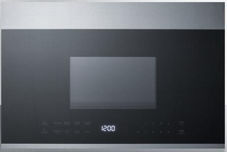 Summit MHOTR24SS Over The Range Microwave Stainless Steel, MHOTR24SS OTR Microwave