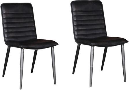 Acme Furniture Hosmer 70422 Dining Room Chair Black, 1