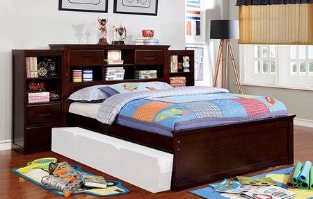 Furniture of America Pearland CM7844FB2B Bedroom Set Brown, CM7844FB-2B