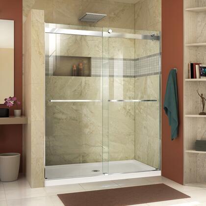 DreamLine  SHDR636076001 Shower Door , Essence Shower Door RS46 60 01 B CenterDrain