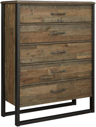 Signature Design by Ashley Sommerford B77546 Chest of Drawer Brown, Main Image