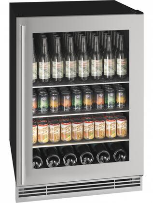 U-Line 1 Class UHBV024SG01A Beverage Center Stainless Steel, UHBV024SG01A Beverage Center