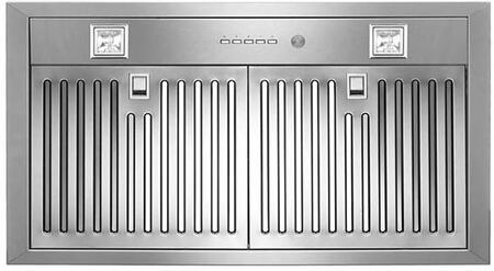Bertazzoni Professional KIN30PROX Range Hood Insert Stainless Steel, KIN30PROX   Bottom View