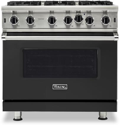 Viking 5 Series VGIC53626BCSLP Freestanding Gas Range Black, VGIC53626BCSLP Gas Range