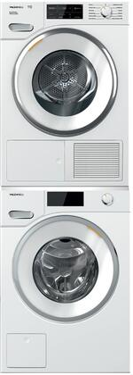 Miele Classic 1005770 Washer & Dryer Set White, Main Image