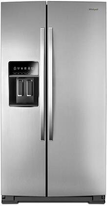 Whirlpool  WRS973CIHZ Side-By-Side Refrigerator Stainless Steel, WRS973CIHZ Counter Depth Side-by-Side Refrigerator