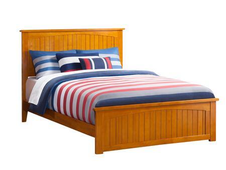 Atlantic Furniture Nantucket AR8236037 Bed Brown, AR8236037 SILO FSB 180