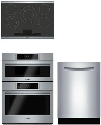 Bosch Benchmark  905853 Kitchen Appliance Package Stainless Steel, main image