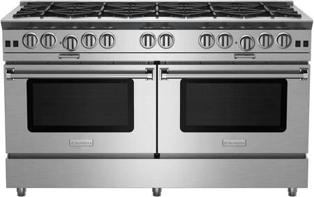 BlueStar Platinum BSP6010BLPLT Freestanding Gas Range Stainless Steel, BSP6010B Platinum Series Range